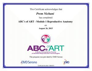 ABC's of ART - M1 Reproductive Anatomy