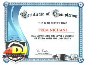 ADJ Level 3