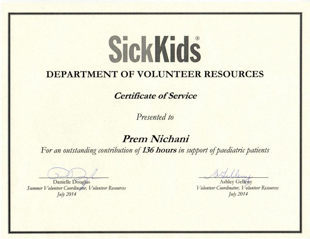 SickKids 2014
