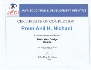 Web Course Design